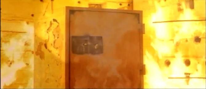 미국 인증기관 'UL'에서는 금고가 화재에도 견디는 지 확인하는 내화성 시험을 진행한다. 시험 후 금고 내부의 온도에 따라 등급이 정해진다. - 유투브 캡처 제공